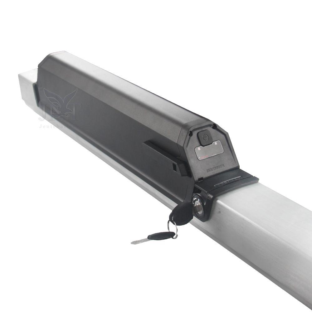 송료 무료 튜브 48v 48v 15v 충전식 리튬 이온 배터리 500W 850W 750W 1000W 모터 + 2A 충전기