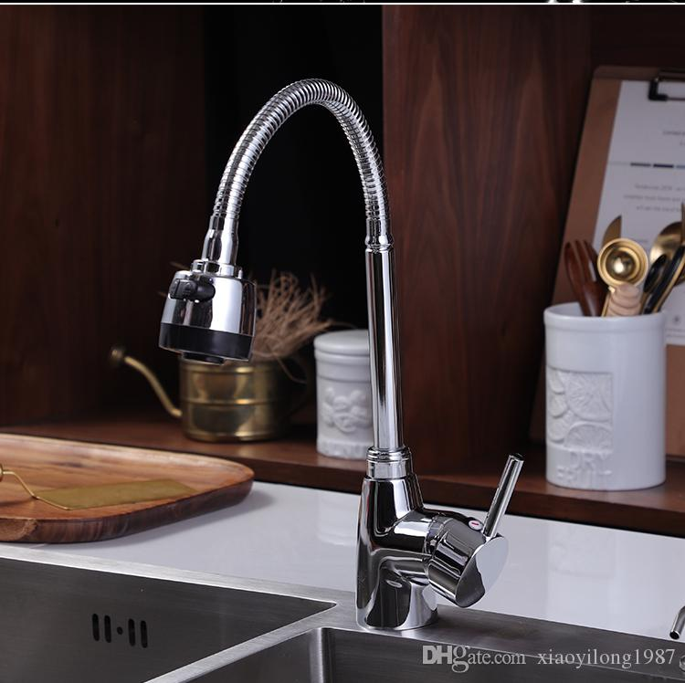 2018 A002 Kitchen Sink Adopts Hot And Cold Water Mixing Nozzle, Style  Features, Water Outlet, Water Outlet Can Be Adjusted From Xiaoyilong1987,  ...