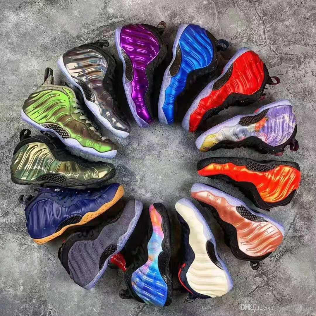 Penny Hardaway zapatos de baloncesto de los hombres de espuma uno Doernbecher Hyper carmesí alternativo Galaxy OG Royal Olympic Sports zapatillas Ben Gordon con la caja