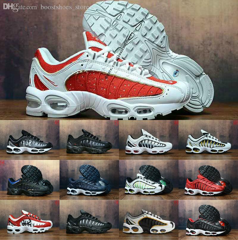 Venta al por mayor 2019 nuevos originales Tn zapatos nuevos diseños moda hombres TailWind transpirable malla de aire Tn Plus Chaussures Requin deportes entrenadores zapatos