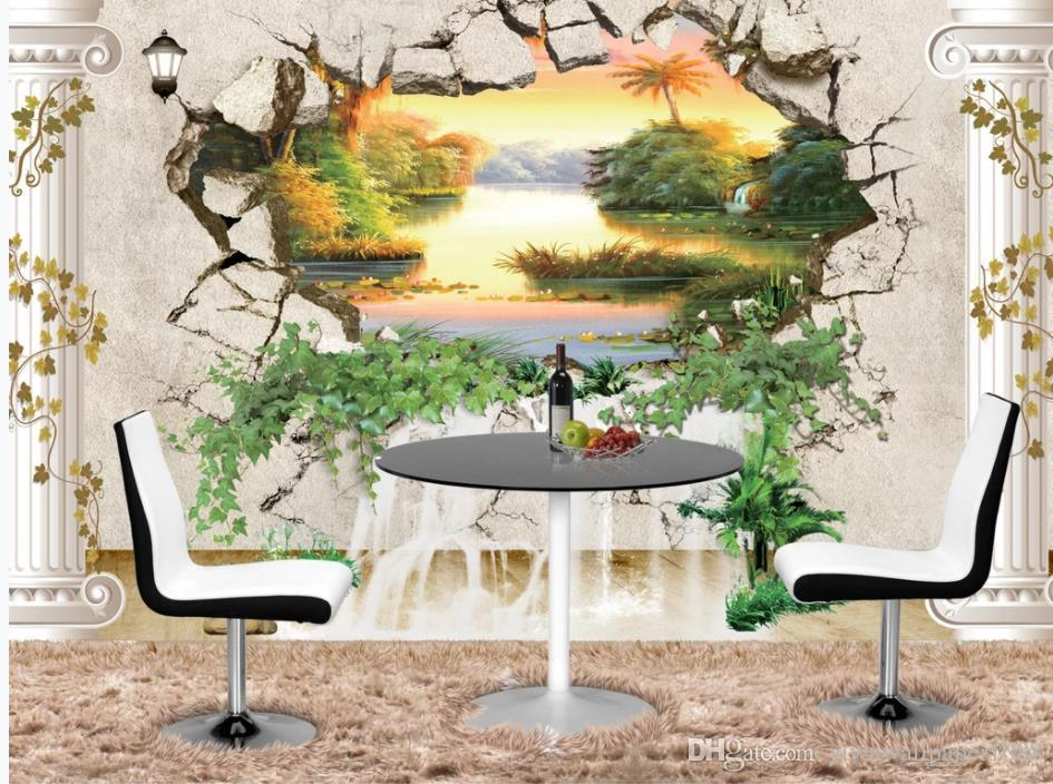 3D Dense forest 588 Wall Paper Print Wall Decal Deco Indoor Wall Murals