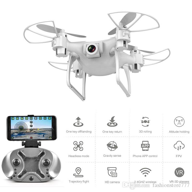 Drone HD كاميرا بدون طيار L26 480P 720P طائرة أربعة محور HD WiFi Aerial التحكم عن بعد طائرات نقل طائرة بدون طيار