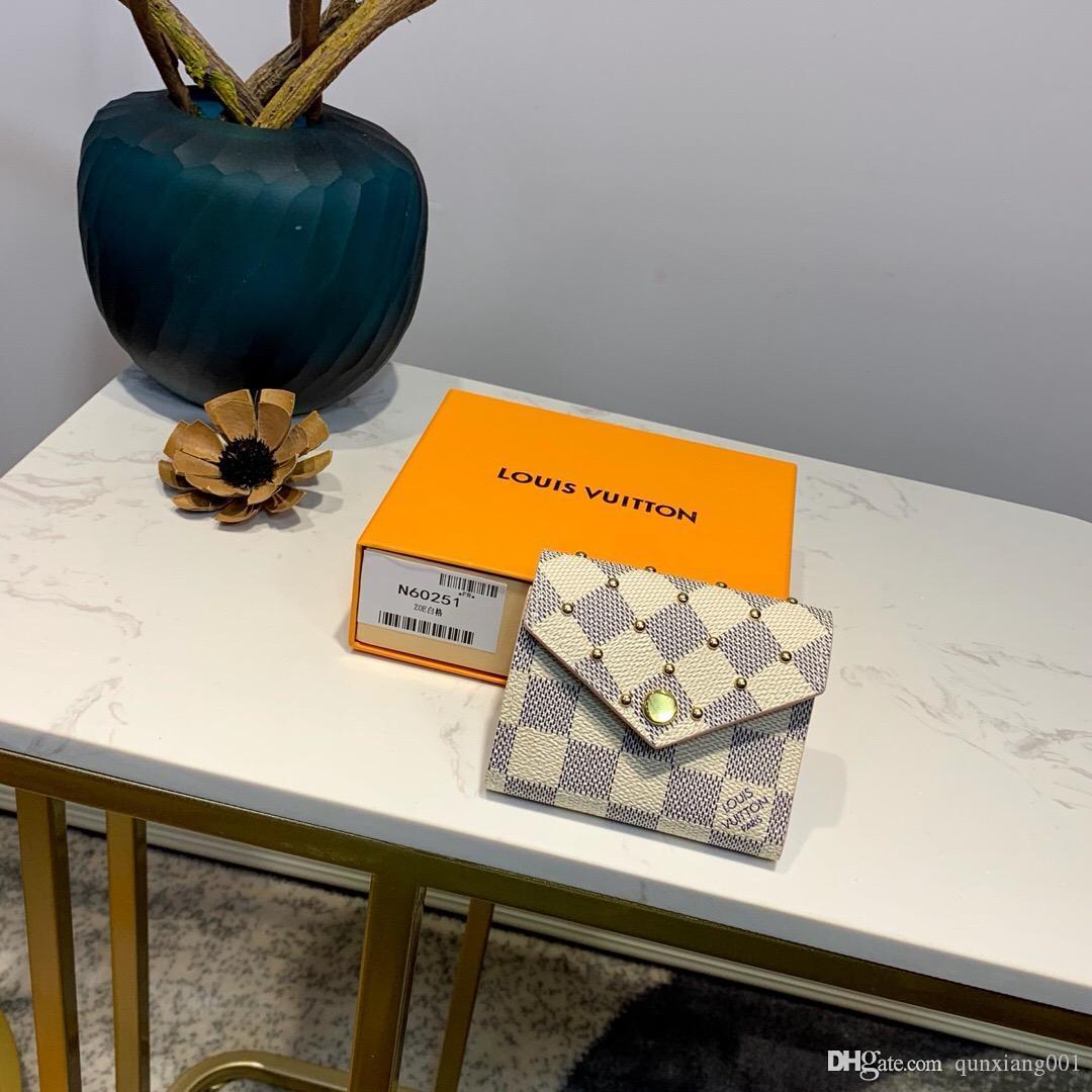 Hombres y mujeres titulares de la tarjeta monedero, estilo europeo y americano, una variedad de opciones de color, libres de cargas, bolsas de regalo + cajas de LQ204