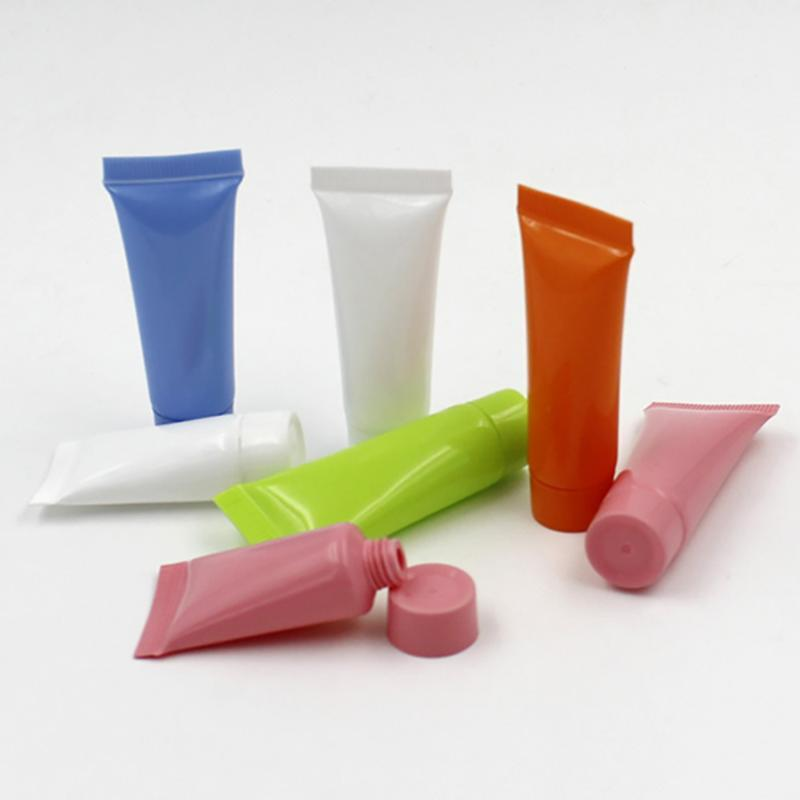1Pcs 5ml Empty Refillable Plastic Tubes Sample Cosmetic Mini Containers Lotions Packing Bottles for Face-cream Shampoo