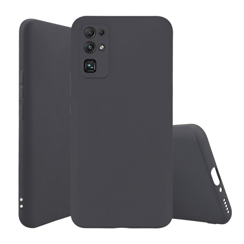 Black Matte TPU Cases For Huawei Honor 30 One Plus 8 Redmi Note 9 Pro Max K30 9S Silicone Rubber Cell Phone Cover