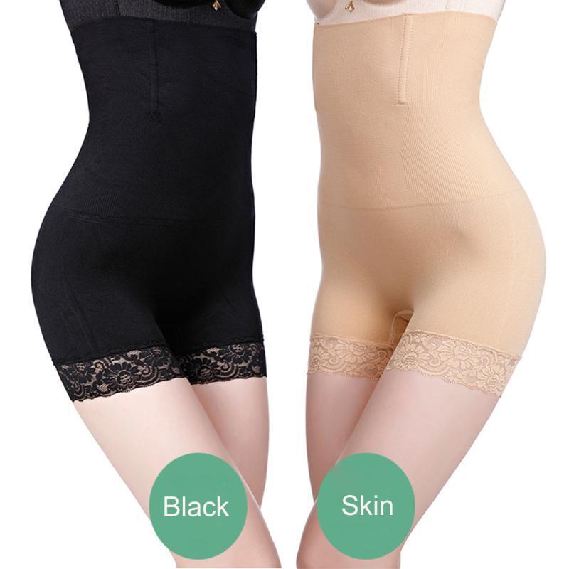 مرونة عالية Shapewear للمرأة تحكم البطن السراويل الرباط اللباس الداخلي هوب BuLifter منتصف الفخذ الجسم المشكل ارتداءها الخصر المدرب