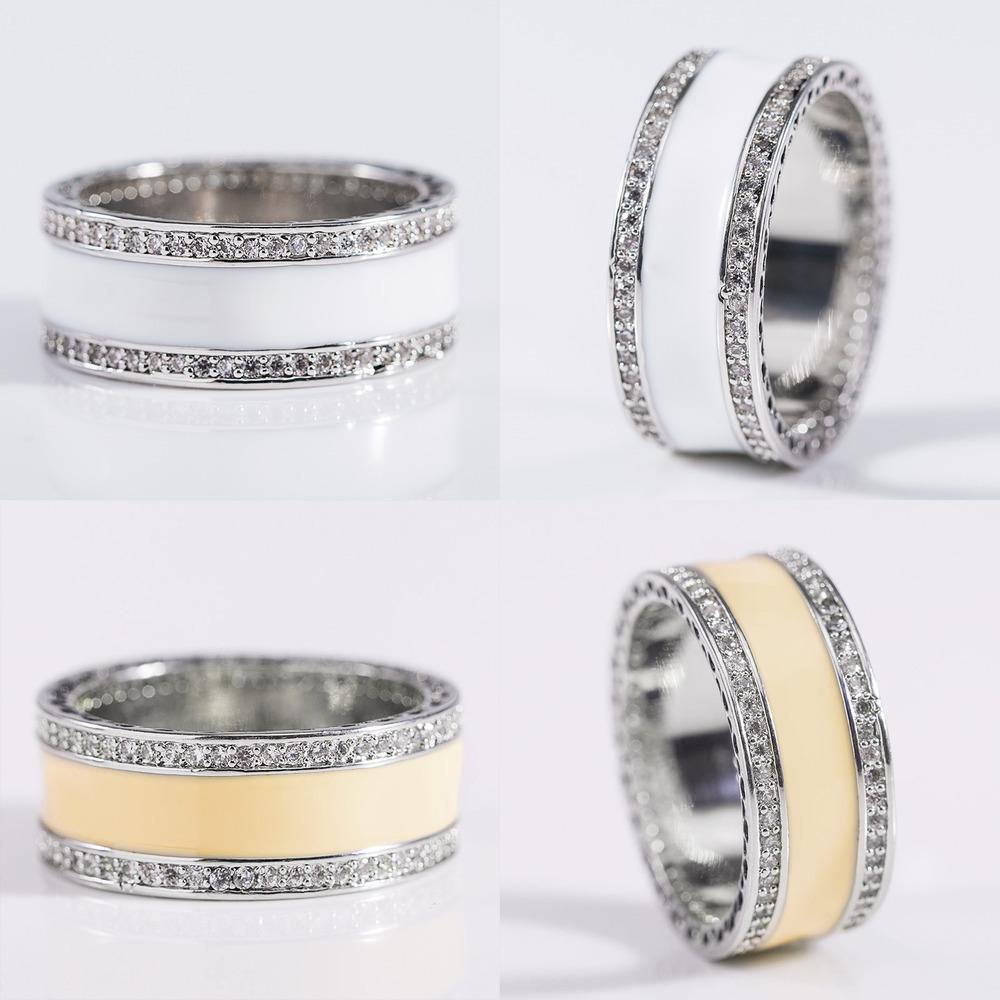 Özlü Aşk Kadın Çember Mikro Zirkon Yüzük Bayan Pembe Parmak Takı Mens Pandora Rings nişan