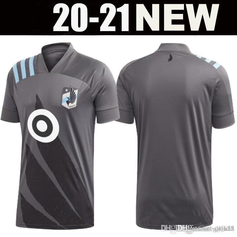 2020 Minnesota United FC camisas de futebol jerseys Gregus 8 CHACON 11 AMARILLA LOD OPARA Métanire MLS camisa de futebol casa longe