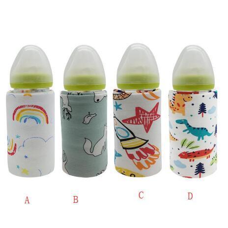 Alimentation du Nourrisson Alimentation Voyage Lait NROCF Baby Bottle Warmer USB Bouteille Portable Chauff/ée Voiture Thermostat Chauffe-Alimentation,D