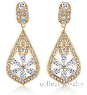 패션 낮은 pirce 고품질 다이아몬드 크리스탈 지르콘 925 실버 tassels 숙녀의 earings (21.48) rgyrt