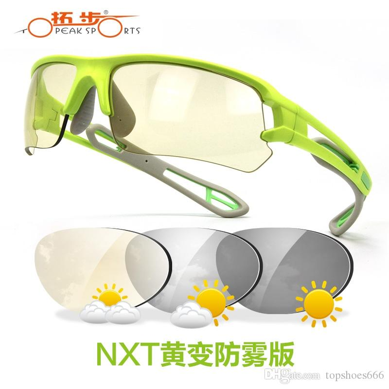 2017 Ski Goggles Topeak Sports Cycling Glasses Photochromic Sunglasses Mtb Road Bike Nxt Lens Uv400 Proof Tr90 Gafas Ciclismo #221958