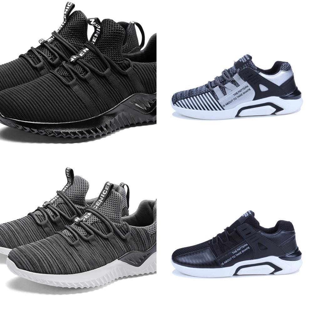 2019 Verão Sapatos Homens Casual Desodorante antiderrapante resistente ao desgaste de homens Sapatilhas Mans calçado ao ar livre respirável Scarpe Uomo