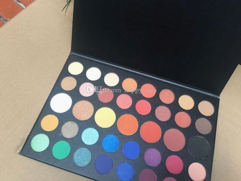 Kostenloser Versand ePacket Neues Make-up Augen Hot Marke White Box Man Version Lidschatten-Palette!