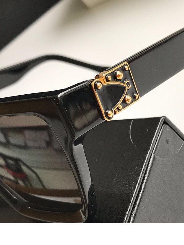 2371 Lüks Açıklamak Gözlük Retro Vintage Erkekler Tasarımcı Gözlük Parlak Altın Yaz Tarzı Lazer Logo Altın Kaplama En Kaliteli