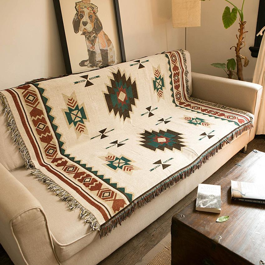 Mandala Rug Sofa Cover Tapestry Throw
