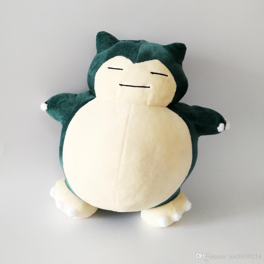 Heiß ! New Snorlax Soft-Puppe-Plüsch-Spielzeug für Kinder Weihnachten Halloween beste Geschenke 11.8inch Großhandel 30cm