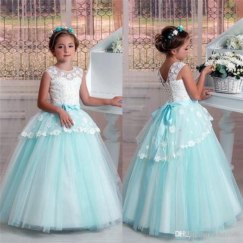 2019 auténtico 60% barato salida de fábrica Compre Nuevo Estilo Princesa Pageant Vestido De Niña De Flores Fiesta De  Bodas Cumpleaños Dama De Honor Tutu Niños Baile De Fiesta GNA43 A $58.3 Del  ...