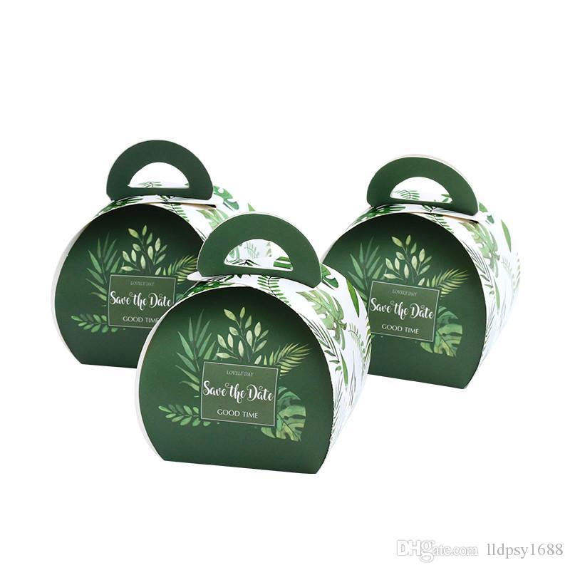 Avrupa Romantik Taşınabilir Hediyelik Kutu Düğün Favor Şeker Kutuları Bebek Hediyelik Kutular doğum günü partisi Şeker Kutusu Çanta DIY Paketleme Malzemeleri