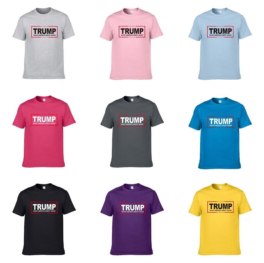 İyi 2020 Çiçek Baskı T Shirt Erkekler Kadınlar Çift Yaz Moda Günlük Sokak Trump Tişört Tasarımcı Mürekkep Püskürtmeli Graffiti Stripes Beyaz T Gömlek Kapalı