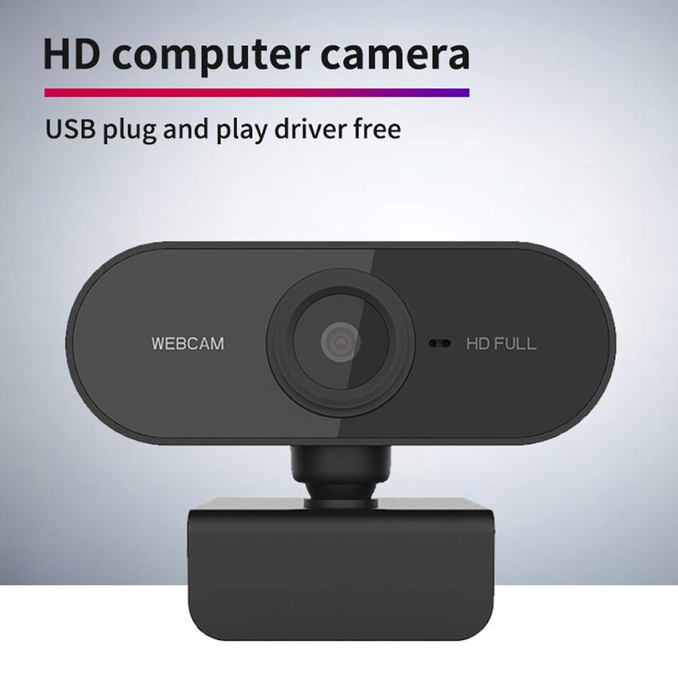 HD 1080P веб-камера мини-компьютер PC WebCamera с микрофоном поворотные камеры для прямой трансляции видеозвонков конференц-работы