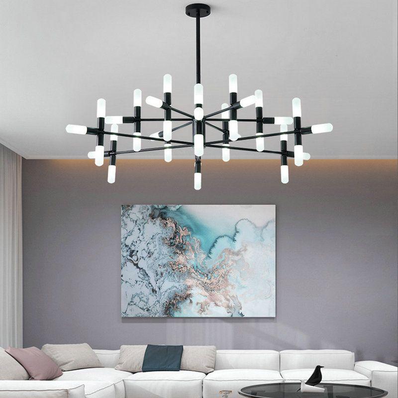 Moderne Nordic postmodern Design-LED hängen Kronleuchter für Schlafzimmer Wohnzimmer Esszimmer Flur Apartment Decor