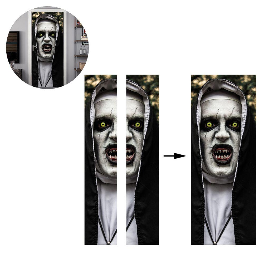 Хэллоуин DIY Ужас зомби дверь окно стикер Scary Halloween Party Реквизит Home Дом Декор Плакат стена наклейка Хэллоуин Декор