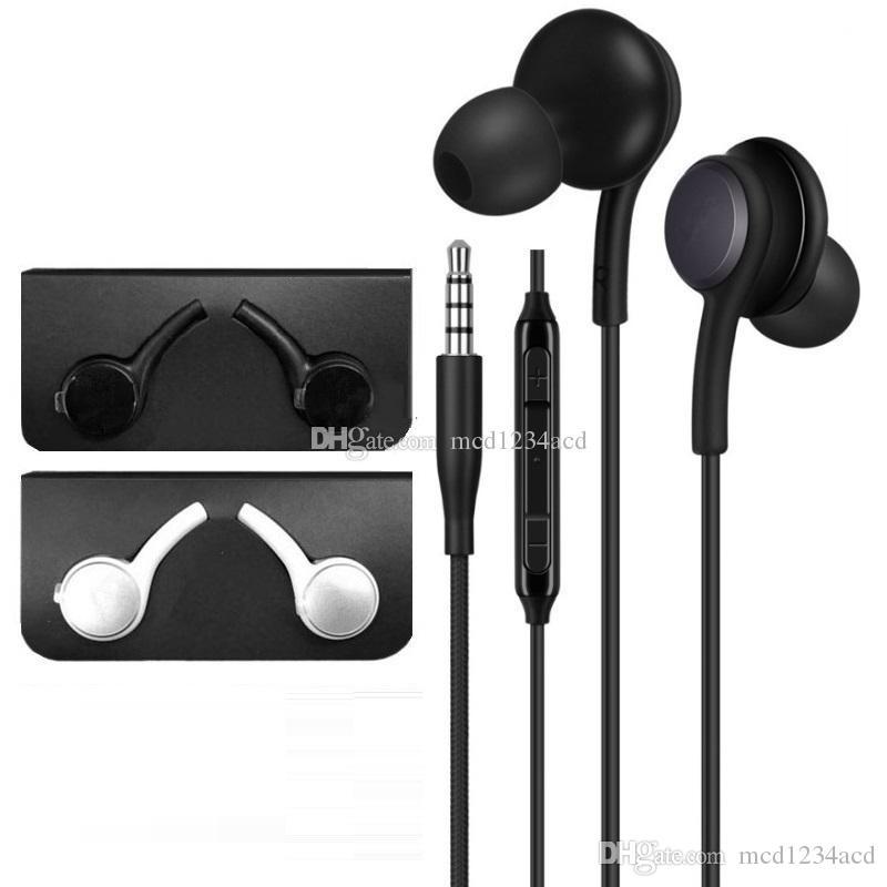 Kulaklık 3.5mm Kulak Yüksek Kalite Earset Kulaklık Kulaklık için Samsung s6 s7 s8 s9 için s10 artı android telefon mp3