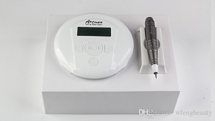 Artmex V6 MTS + PMU digital tattoo machine permanent makeup machine for eyebrow Semi Permanent Makeup Tattoo Device Tattoo DHL free Shipping