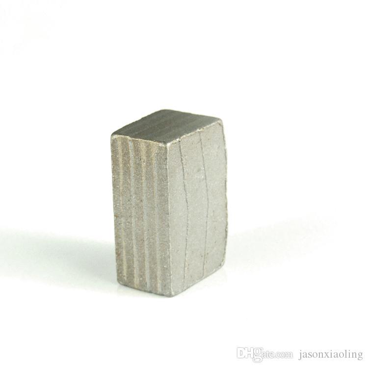 DS06 Diamond Segments for Quarry D2000mm M Shape Diamond Block Cutting Segments 24*11.0/10.5/10.0*19.5/20mm One Set 128PCS