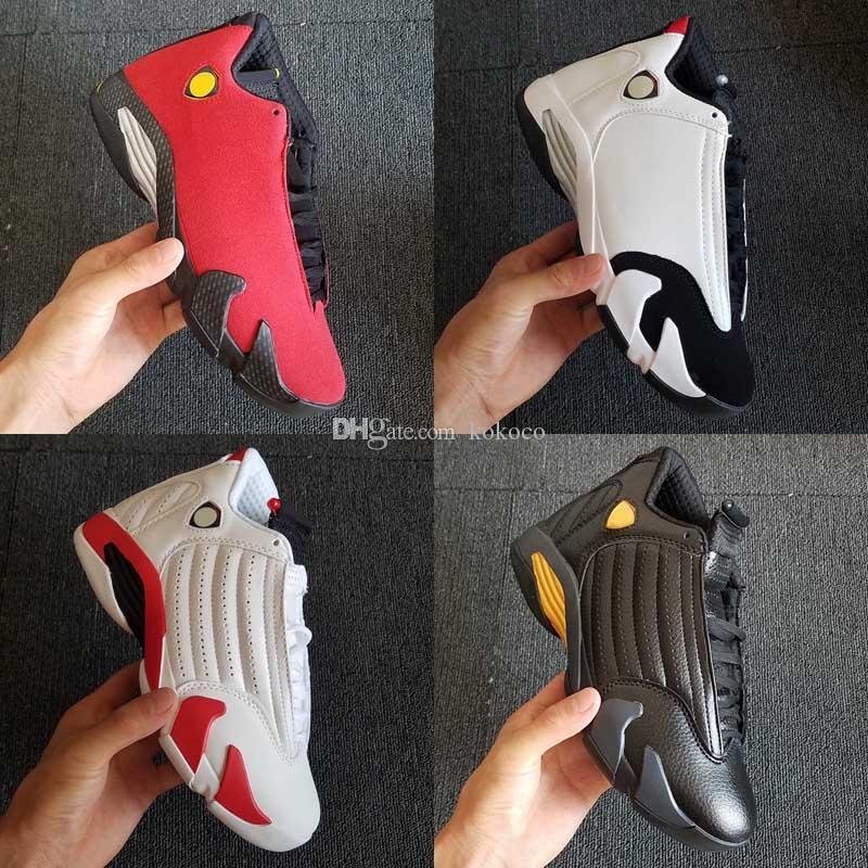 Jumpman 14 XIV Green Indiglo Thunder Black Toe Red Suede 14s Hombres Niños Zapatillas de baloncesto Sneaker Last Shot Zapatillas deportivas zapatillas de deporte de diseño