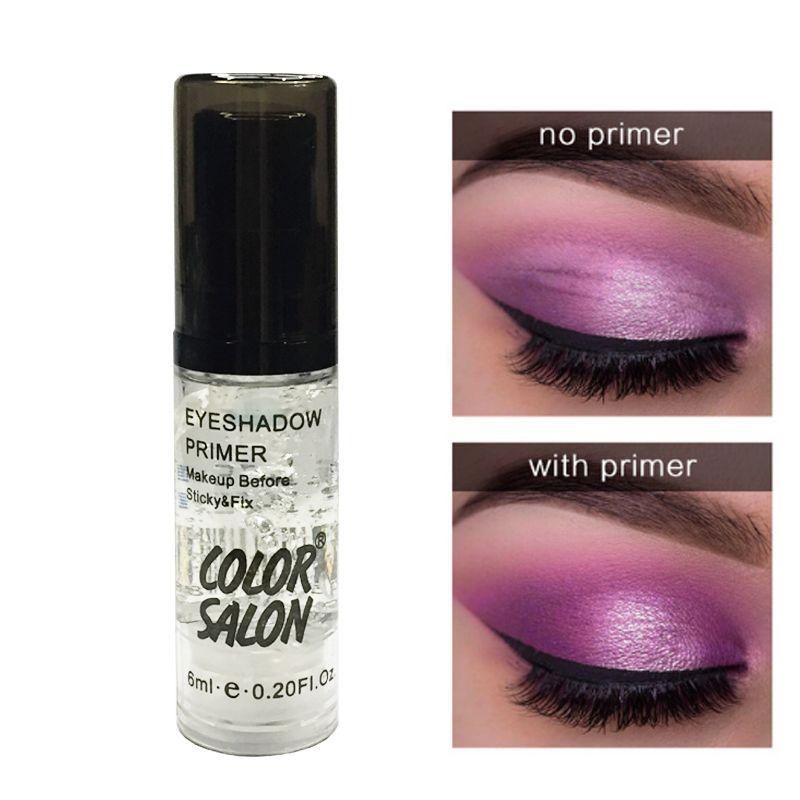 Color Salon Eye Shadow Primer Maquillaje Base Natural Profesional Cosmético Sombra de ojos Maquillaje Crema de larga duración A prueba de agua