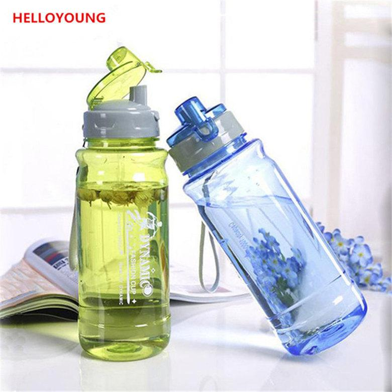 Kapak Dudak Filtre Kapaklı Drinkware Uzay şişe Su Sporları ile Plastik Su Şişeleri Taşınabilir İçme Şişe Tercih Şişe