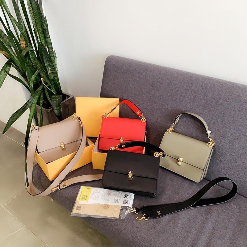 classica borsa tracolla 2020 stilista sacchetti di spalla della borsa donna borsa della medaglia KAN ho BORSA costruzione blocco fibbia