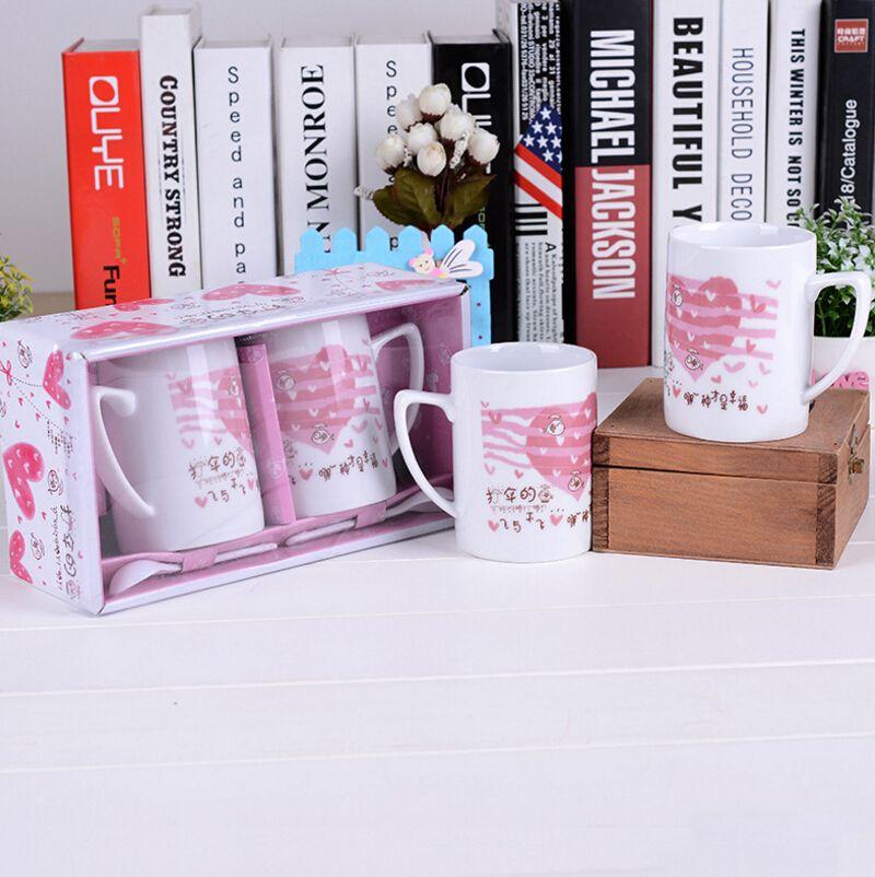 Acheter Dessin Animé En Céramique Tasse Couleur Définie Japon Et Corée Du Sud Maison étudiant Boire Tasse Mode Simple Café En Céramique Café Tasse De