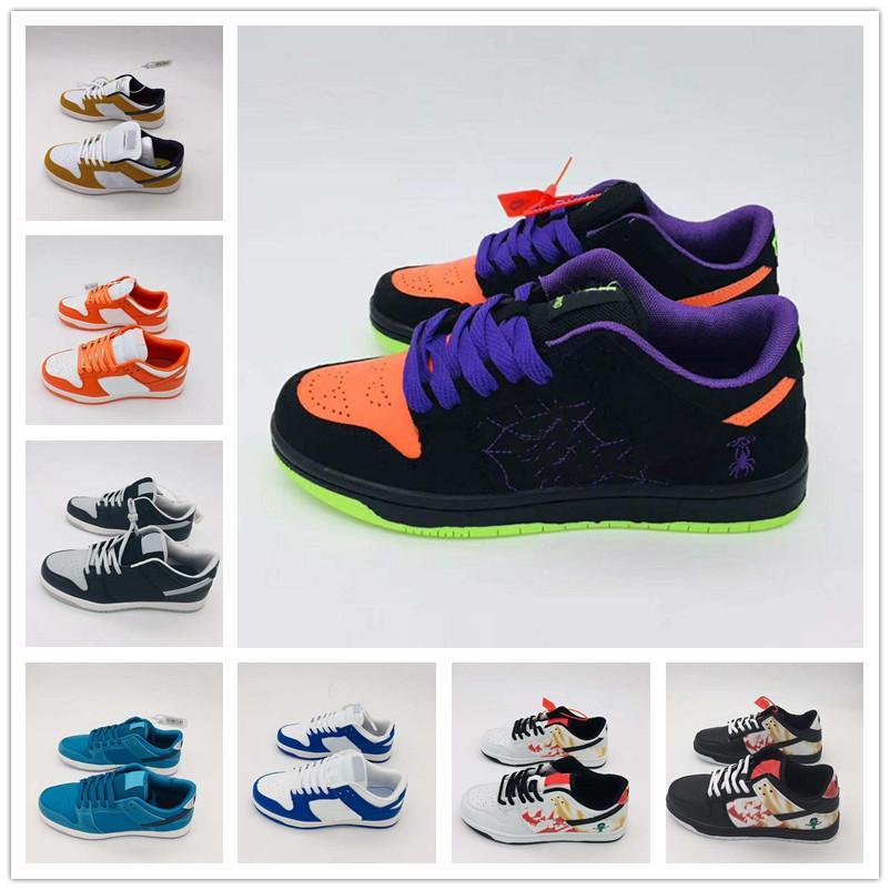 Moda SB Erkek Sneakers 2020 Tasarımcı Erkekler Kadınlar Düşük Kesim Deri Casual Açık Dunk Unisex Zapatos Kaykay Ayakkabı 36-44 Ayakkabı