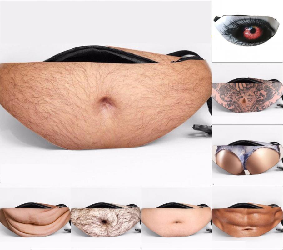 Женщины Мужчины Смешной талии пакеты 2020 лето новые талии сумка Мужчины Женщины Fanny Pack для PU Zipper сумки на ремне