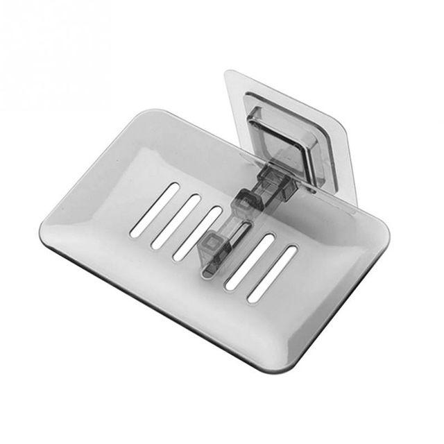 Bathroom Shower Soap Box Dish Storage Plate Tray Holder Case Soap Holder Bathroom Tray Accessories Box Shelf Wall Dishes ZJ0778