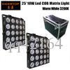 2IN1 Flight Case Verpackung Warm White Professionelle LED-Einzel Control 16 * 30W High Power LED Blinder Licht 35 Grad-Objektiv