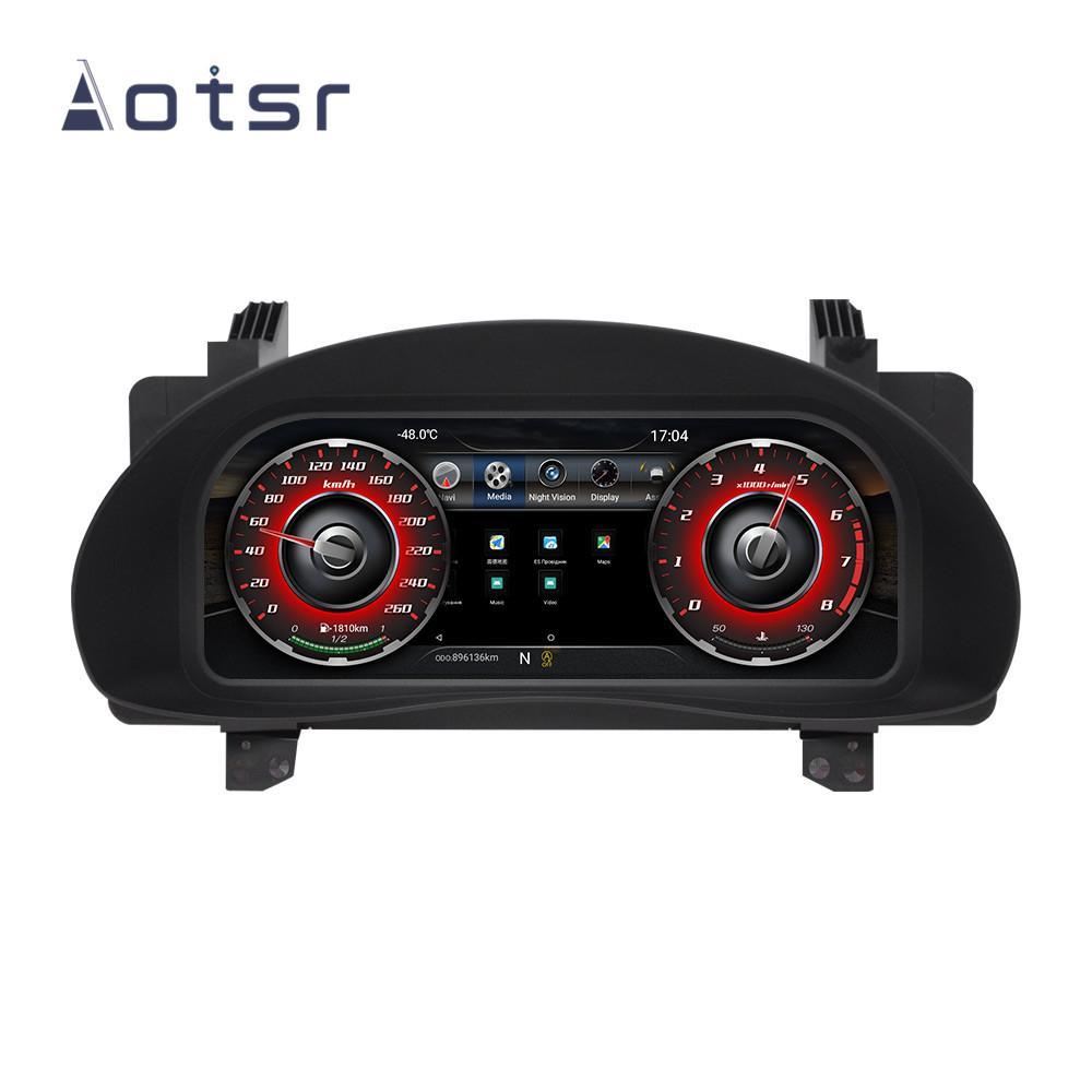 12.3 pouces tableau de bord multimédia de bord de voiture Cluster LCD Modification Pour Corolla 2014-2017 voiture lecteur dvd navigation GPS