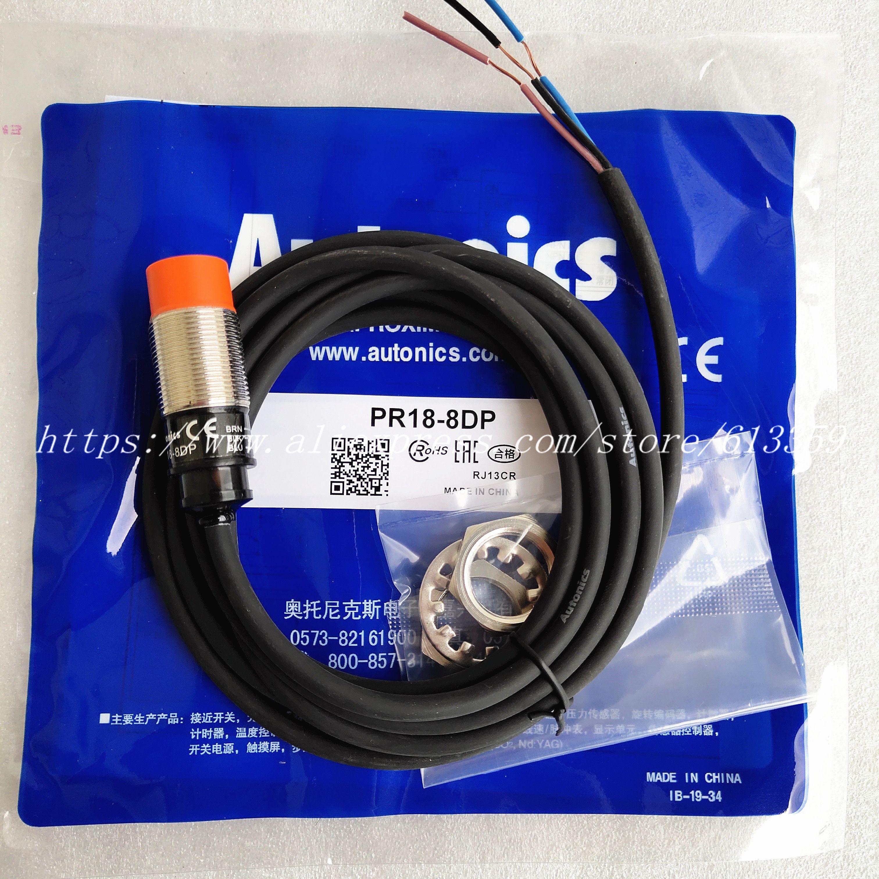 5 шт. PR18-8DP PR18-8DN PR18-5DP PR18-5DN Autonics Датчик приближения Новый высокое качество