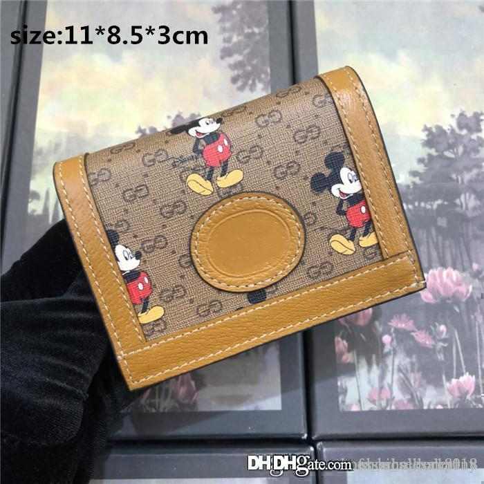 Womens latest premium purse printed canvas,light brown leather piping,Compartment card bag with Zero wallet