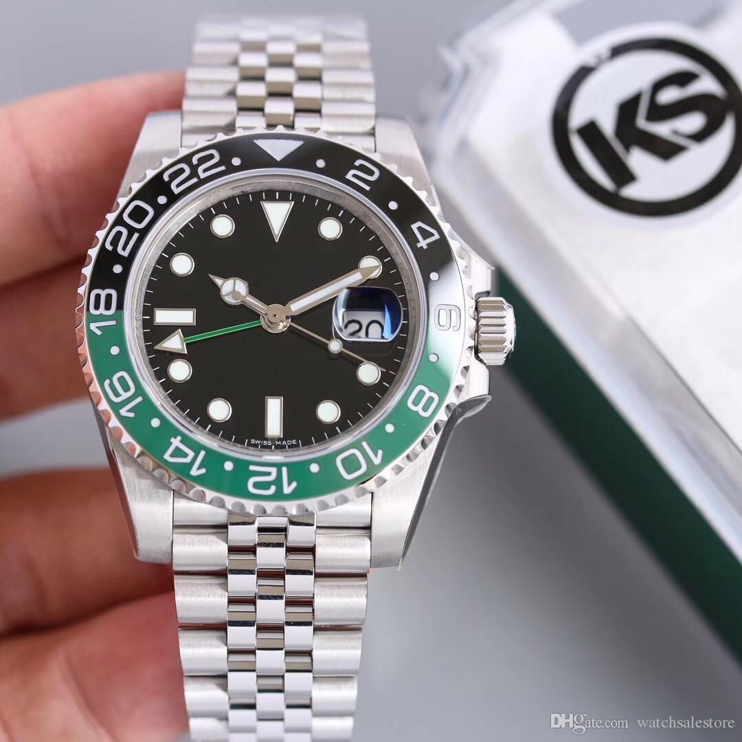 KS nouveau type Greenwich série montres de luxe portent 2836 mouvement mécanique automatique montre de luxe concepteur mens étanche
