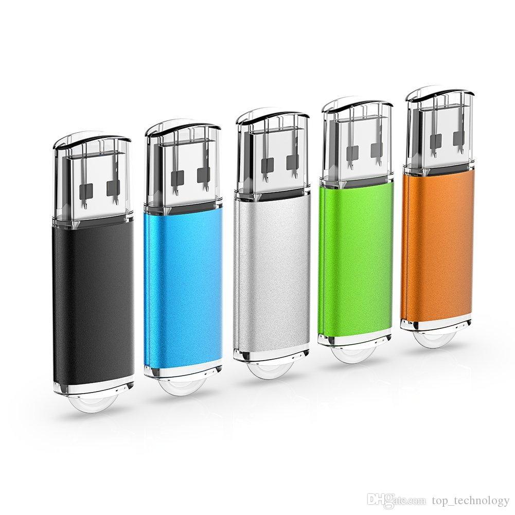 5PCS 1PCS 1GB 2GB 4G 8GB 16GB 32GB 64GB USB فلاش محركات الأقراص الإبهام محركات أقراص ذاكرة عصا USB 2.0 JumpDrive