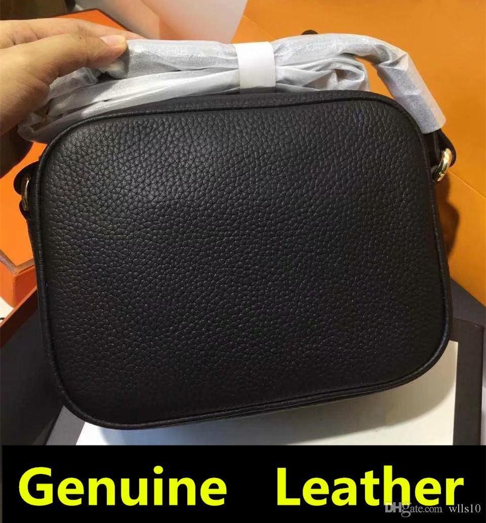 G053 Designer Sacs à main SOHO DISCO Sac à glissière véritable pompon en cuir sacs à bandoulière sac à bandoulière Sac à main viennent avec la boîte