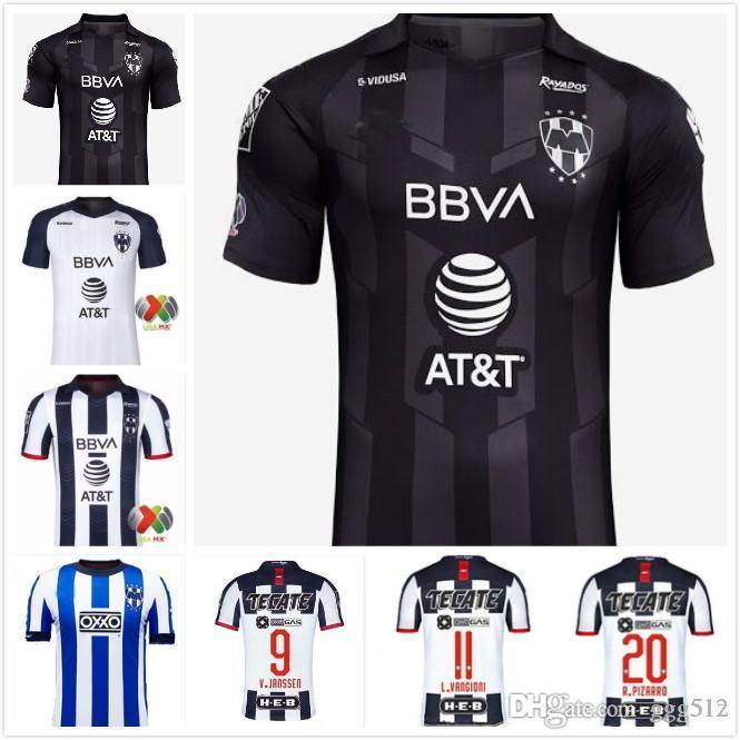 magliette da calcio Thai 19 20 Monterrey calcio maglie D.PABON R.FUNES MORI 19 20 LIGA MX Club Camiseta de futbol BACA Renteria