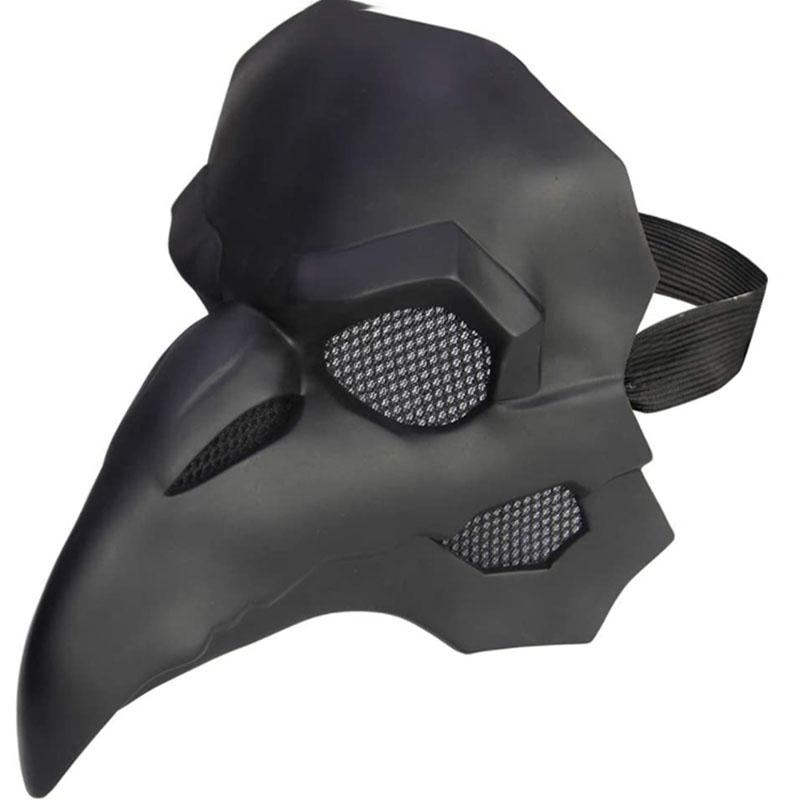 maschere di Halloween sono nuovi, in PVC nero punk maschere di cuoio peste medico Halloween Cosplay di carnevale maschere puntelli del costume festa in maschera