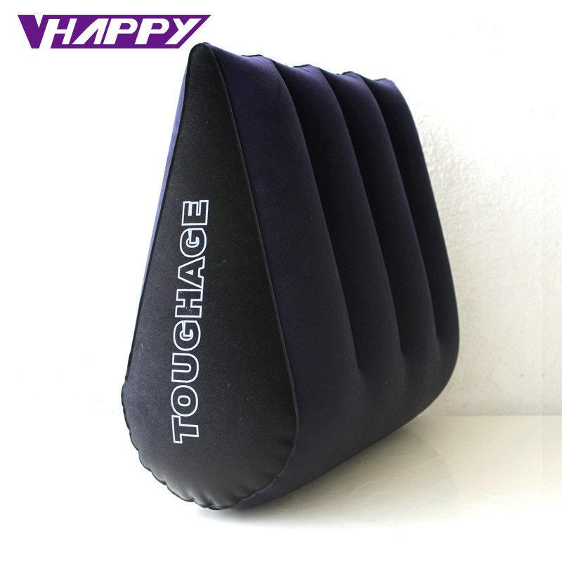 Toughage Sex Pillow Inflatable Sex Furniture Triangle Magic Wedge Pillow Cushion Erotic Products Adult Game Sex Toys For Couples C19012201