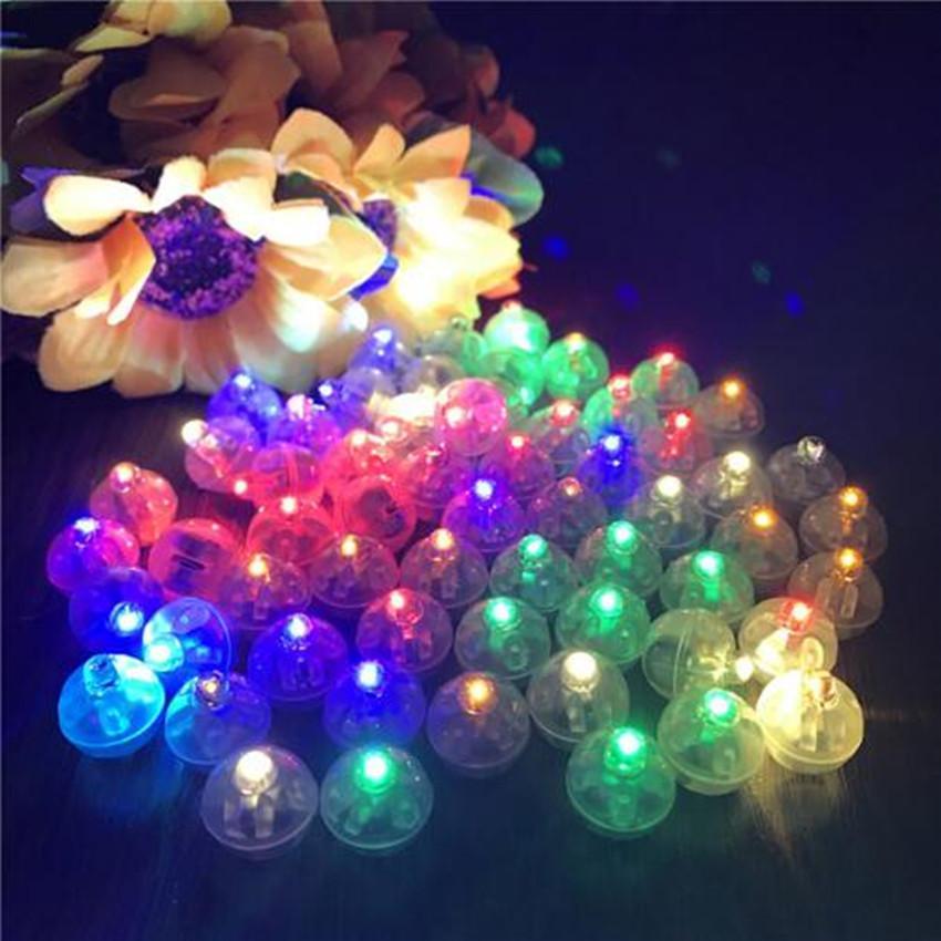 10Pcs Mini LED Light Bulb Tumbler Shape Light Small Round Balloon Light UK