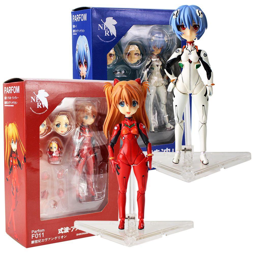 EVA Parfom F010 Evangelion Ayanami Rei Cute PVC Action Figure Toy New In Box