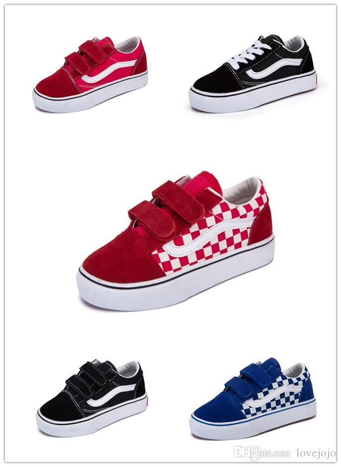 2019 Hot Sale Children Sneaker Spring Children's Canvas Boys Girls Sports shoes Fashion Kids Jean Canvas Casual